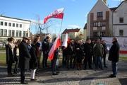 Legnica - Manifestacja Narodowców