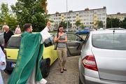 Legnica - Święcenie samochodów w parafii pw. Matki Bożej Królowej Pol