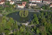 Legnica - Park Miejski z lotu ptaka